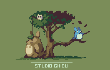 Studio Ghibli by AlbertoV