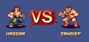 Battle of muscles