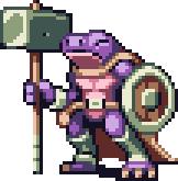 Reptile warrior by AlbertoV