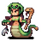 Snake-woman by AlbertoV