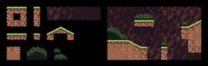 TUTORIAL - Pixel Art Platformer Tileset