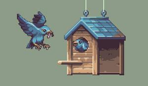 Birdhouse by AlbertoV