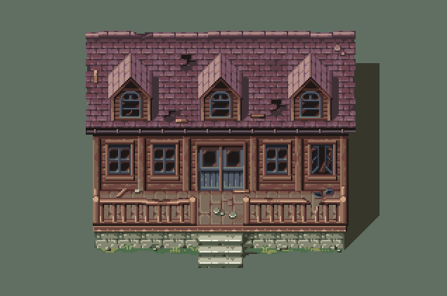 Mountain house by AlbertoV