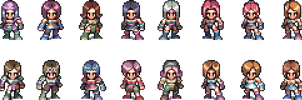 Characters concept and design