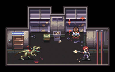 Dino Crisis (PS1) by AlbertoV