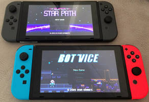 BOT VICE and SUPER STAR PATH on Nintendo Switch! by AlbertoV