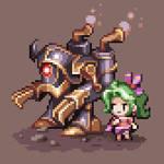 Terra and Magitek Armor