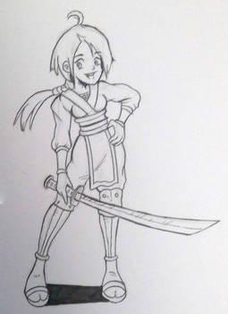 Character design - Kunoichi