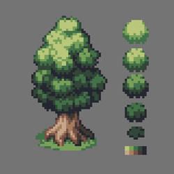 PIXEL ART - Tree