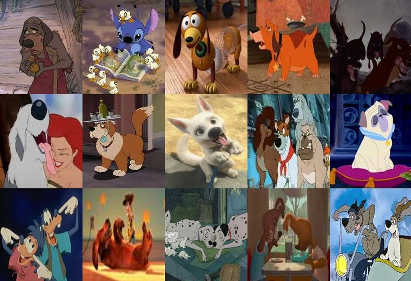Disney movies with dogs