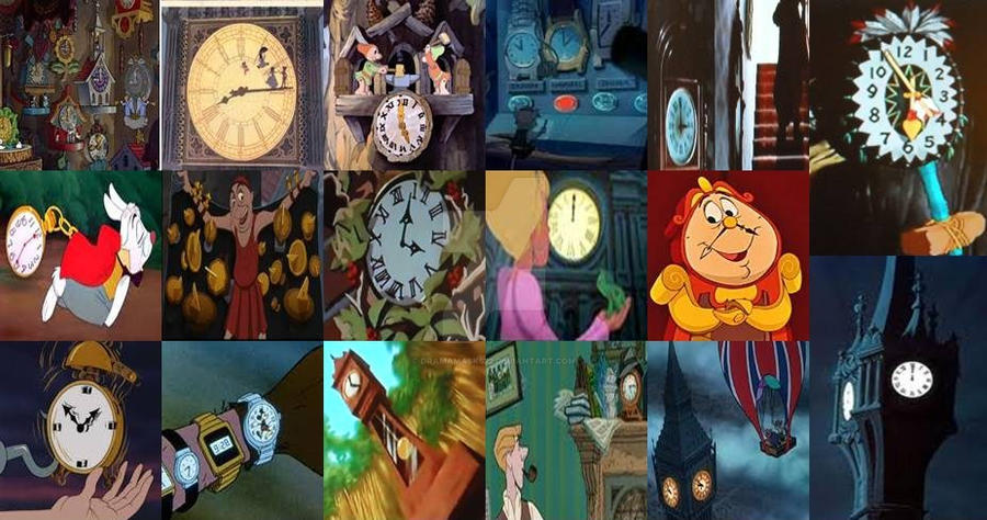 Disney Watches And Clocks In Movies By Dramamasks22 On