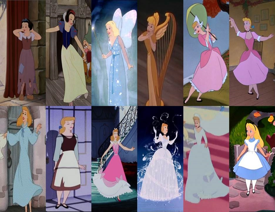 Disney Dresses In Movies Part 1 By Dramamasks22 On Deviantart