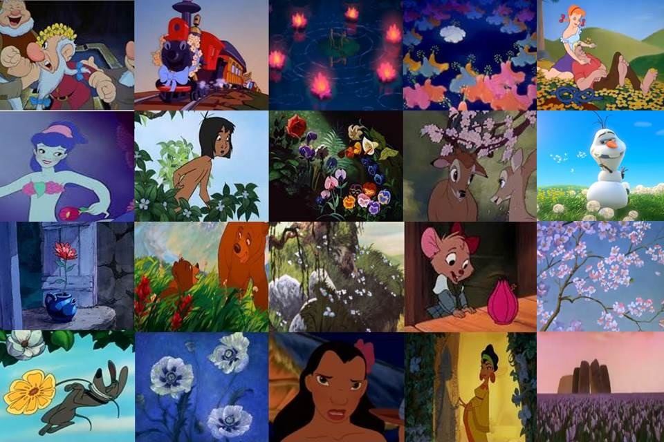 Disney Flowers In Movies Part 3 By Dramamasks22 On Deviantart