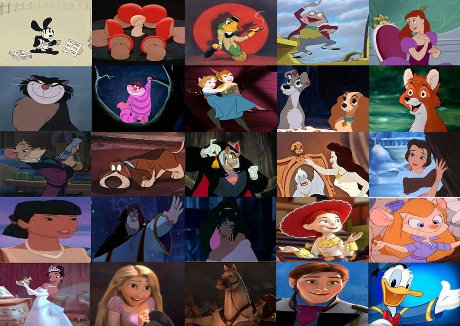 Favorite Disney Characters By Dramamasks22 On Deviantart