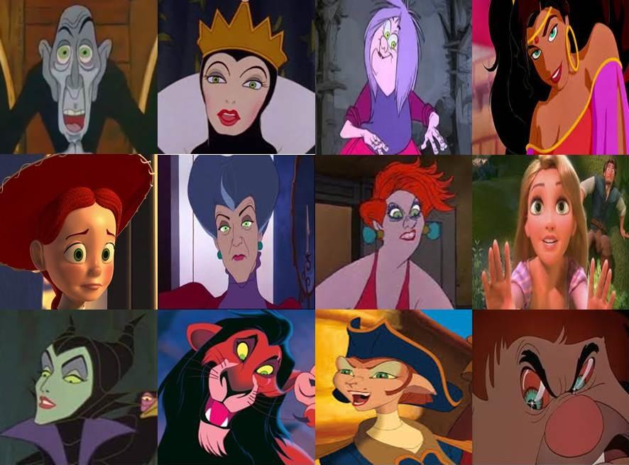 Green Disney Characters Disney Characte...