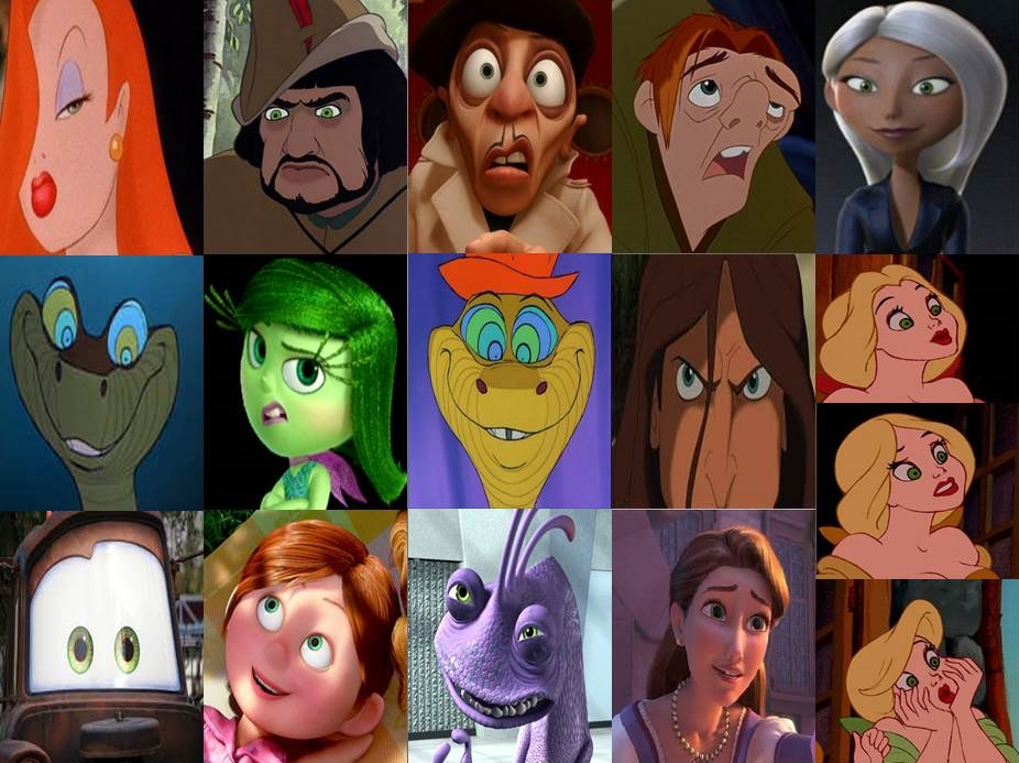 Green Disney Characters The gallery for -->...