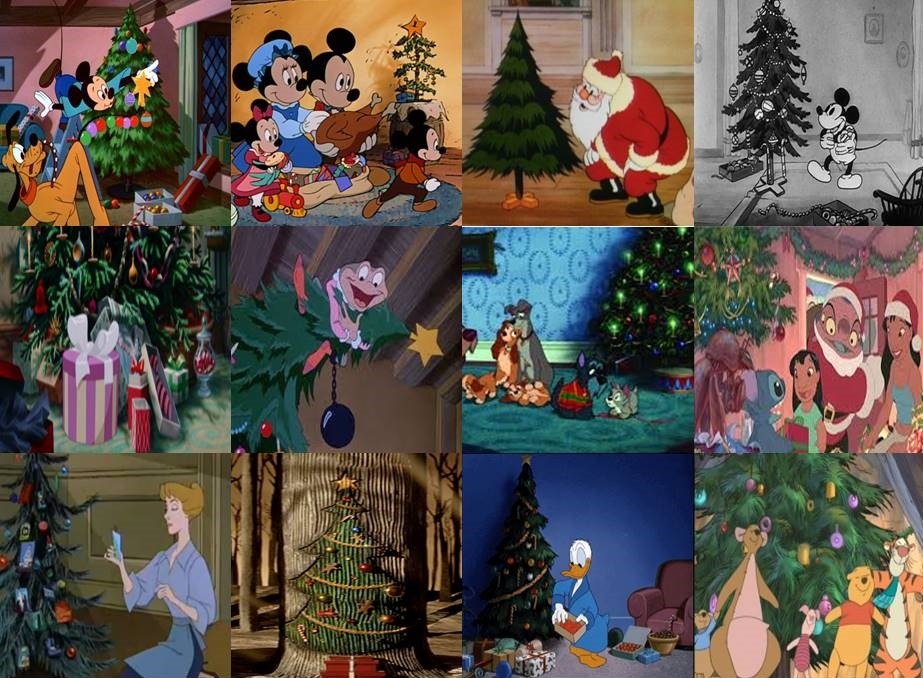 disney christmas trees in movies and shorts by dramamasks22 - Disney Christmas Trees