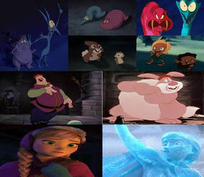Disney Magical Transformations in Movies Part 6 by dramamasks22