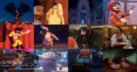 Disney Disguises in Movies Part 4