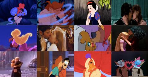 Disney Kisses in Movies Part 5