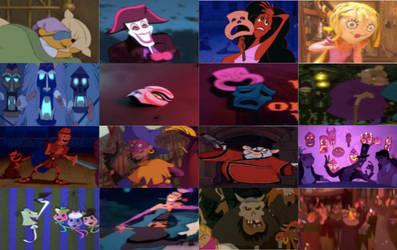 Disney Masks in Movies Part 1