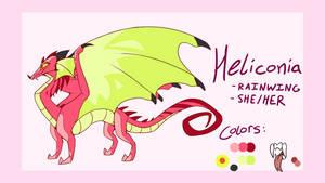 Heliconia / Heli - Ref Sheet