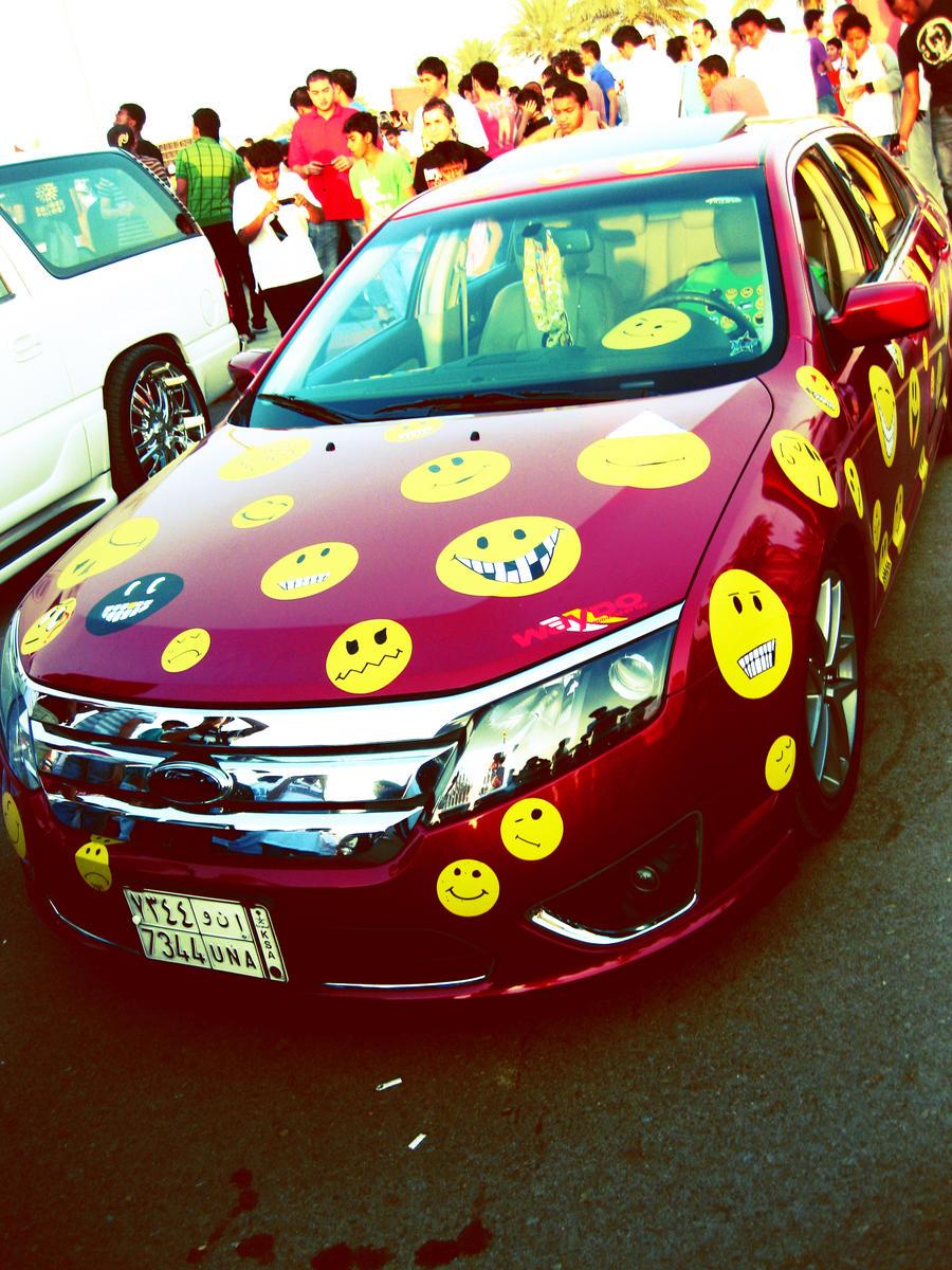 Smiley Car