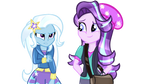 EqG Trixie Lulamoon And Starlight Glimmer (N/BG)