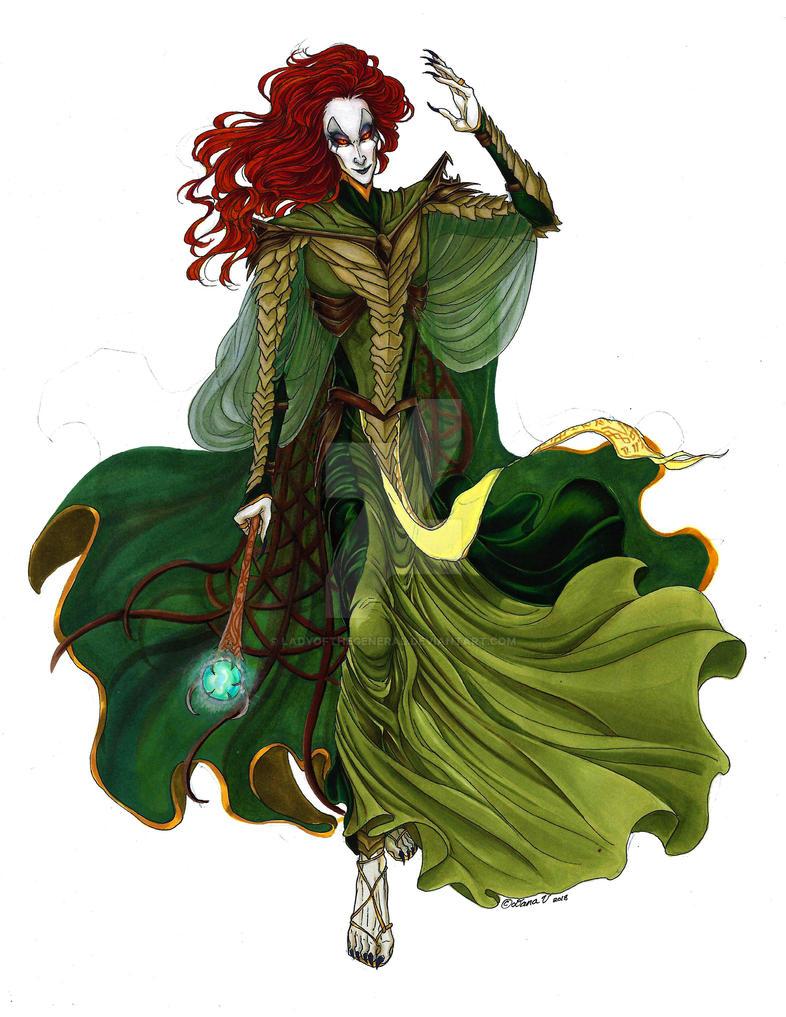 The Dragon Priest of Bromjunaar by LadyoftheGeneral on DeviantArt