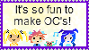 Love Making Original Characters! by RainbowIcePop