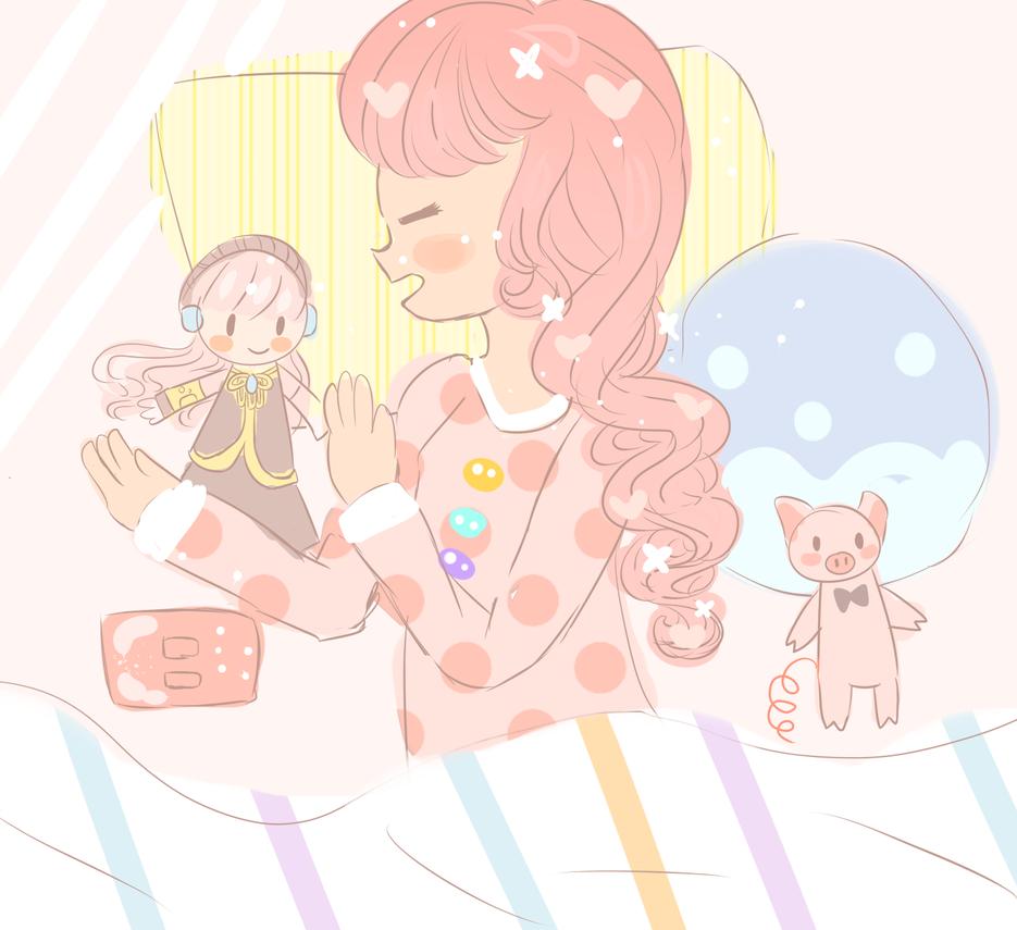 teto is asleep by RainbowIcePop