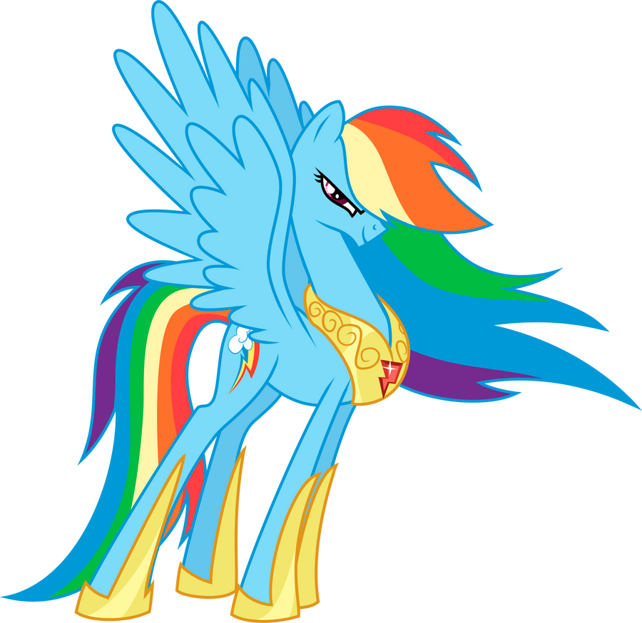 Rainbow Dash Vector by MultiverseCafe