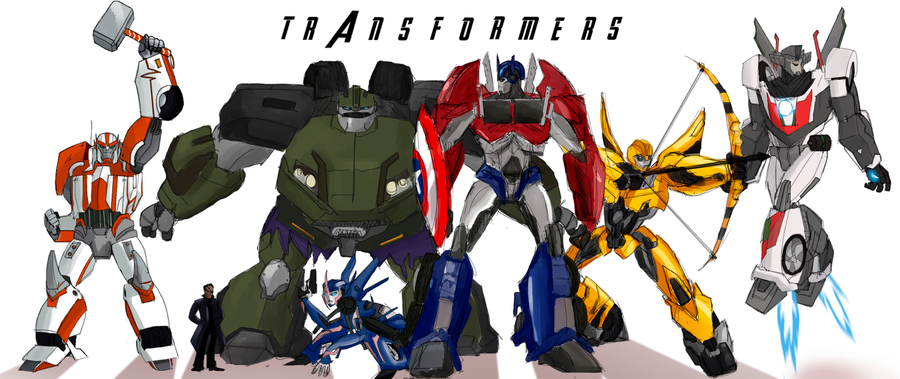 Transformers: Avenge by MultiverseCafe