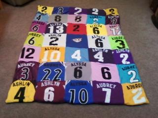 Soccer Jersey Quilt by SheChan on DeviantArt : jersey quilt - Adamdwight.com