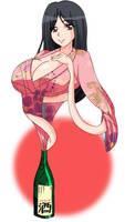 [COMMISSION] Sake Girl