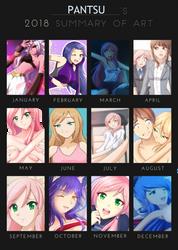 2018 Summary of Art by pantsu-desu