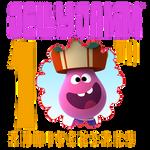 Jelly Jamm 10th Anniversary Logo (Goomo)