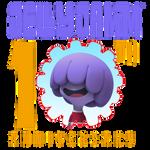 Jelly Jamm 10th Anniversary Logo (Ongo)