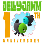 Jelly Jamm 10th Anniversary Logo (Dodos)