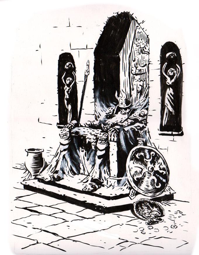 Inktober 29: The king