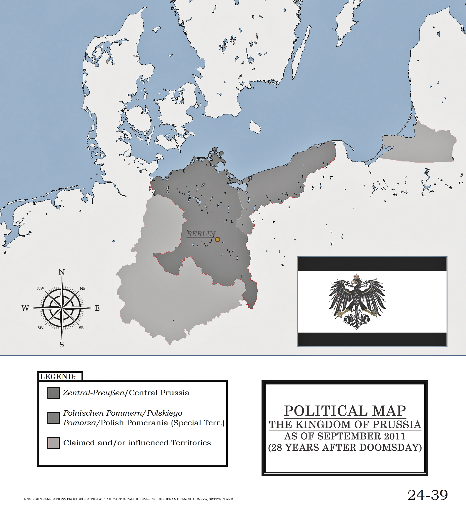 Kingdom of Prussia Map-File