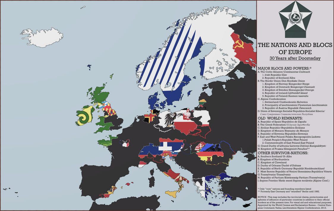 Flags of europe a 1983 doomsday map by mdc01957 on deviantart flags of europe a 1983 doomsday map by mdc01957 publicscrutiny Gallery