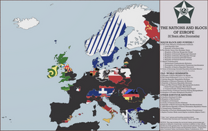 Flags of Europe: A 1983 Doomsday Map by mdc01957