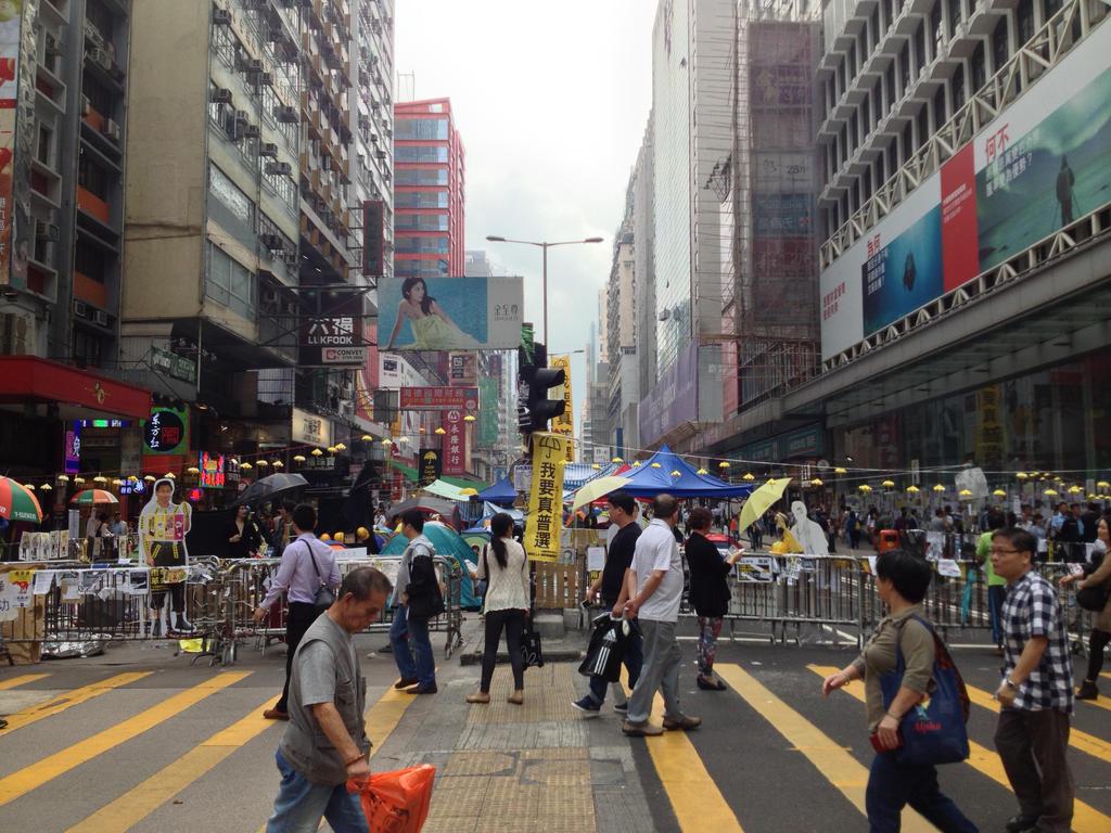 Hong Kong-Mong Kok/Nathan Road Protest Site by mdc01957