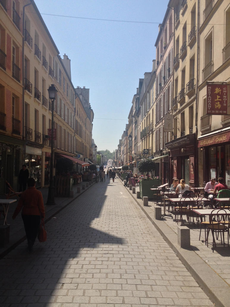 Versailles - Rue de Satory by mdc01957