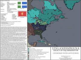 Vinlandssoguna: Vinland AD 1830 by mdc01957