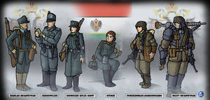 New Austrian Forces: RDNA-verse Commission