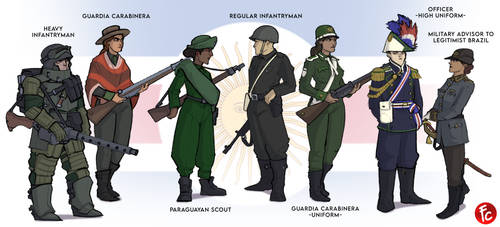 Gran Patagonian Forces: RDNA-verse Commission