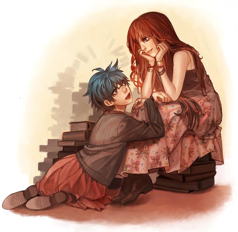 Hiromi and Ayame by viki-vaki