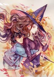 Witch sketch 01 by viki-vaki